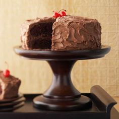 This cake is called chocolate lover's for a reason! It's the classic chocolate cake kicked up a notch with homemade chocolate butter frosting. This birthday cake will wow everyone with two layers of decadently sweet chocolate cake and then frosted for ooey goodness.
