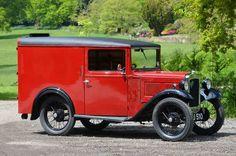 1937 Austin Seven AVJ Van