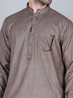 Mahendi colour Mens Designer Shirts, Designer Suits For Men, Designer Clothes For Men, Gents Kurta Design, Boys Kurta Design, Kurta Pajama Men, Kurta Men, Indian Men Fashion, Mens Fashion Wear