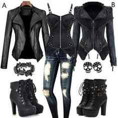Best Ways To Style Your Outfits - Fashion Trends Punk Outfits, Gothic Outfits, Trendy Outfits, Girl Outfits, Fashion Outfits, Fashion Trends, Dark Fashion, Gothic Fashion, Mode Emo