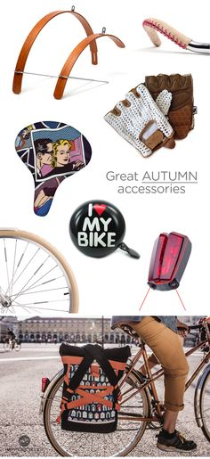 Summer is over!  Best Autumn Bike Accessories by HappyBicycle.pt