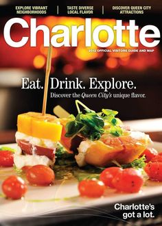 Charlotte NC Official Visitors Guide and Map
