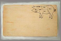 vyrobkyprestastie / doska na krájanie - mäsová Bamboo Cutting Board