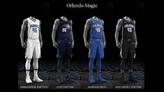 Orlando Magic uniform set, 2017-18