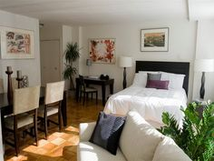 How To Live Stylishly In A Studio Apartment More Studio Apartment Apartments And Studio Ideas