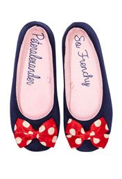 Ladies French Slippers. Peter Alexander