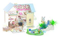 *fistuff* Sylvanian Families Decorated Doll House/Riverside Lodge Scenery + LOTS    eBay