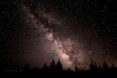 The Milky Way in Island Park, Idaho.