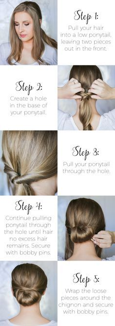Easy second-day hairstyle tutorials