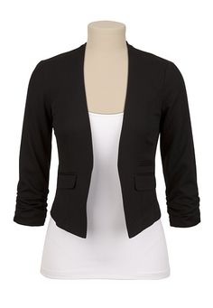 Cropped Waiter Jacket available at #Maurices  My new blazer!