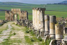 Volubilis, ville romaine au Maroc