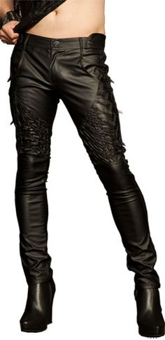Strange Lights Mens Pants - Mens gothic, industrial and cyber pants.