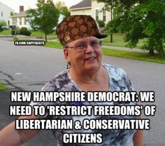 New Hampshire Democrat: We Need to 'Restrict Freedoms' of Libertarian & Conservative Citizens