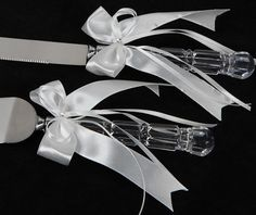 Cake Knives Servers These Are Exactly Like Mine Fro My Wedding With Out