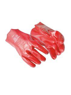 PVC İŞ ELDİVENİ (27 cm.): Çeşitli uzunluk alternatifli eldiven, koton interlok astar üzerine PVC kaplamalıdır.  Materyal: Cotton, PVC Uzunluk: 27 cm Sertifika: EN420, EN388