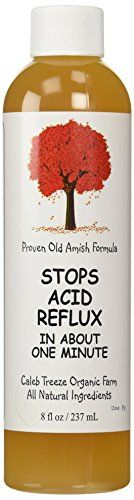 Stops Acid Reflux 8 oz by Caleb Treeze Old Amish Formula >>> Want additional info? Click on the image. Acid Reflux Medicine, Acid Indigestion, Acid Reflux Recipes, Natural Remedies For Heartburn, Holistic Remedies, Natural Cures, Stop Acid Reflux, Acid Reflux Remedies, Reflux Disease