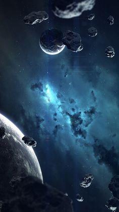 Space wallpaper galaxy universe ideas for 2019 Outer Space Wallpaper, Look Wallpaper, Planets Wallpaper, Galaxy Wallpaper, Trendy Wallpaper, Galaxy Space, Galaxy Art, Space Artwork, Beautiful Moon
