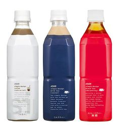 simply design coffee packaging bottle