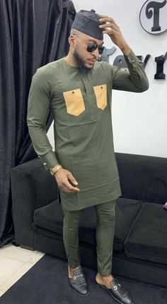 - Source by - African Wear Styles For Men, African Shirts For Men, African Dresses Men, African Attire For Men, African Clothing For Men, Nigerian Men Fashion, Muslim Fashion, African Print Fashion, Latest African Men Fashion