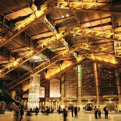 Tony Garnier, arquitecto. La Halle, interior.