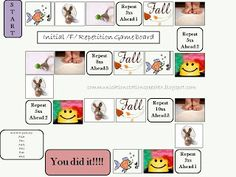 Initial F Repetition Board Game! - Pinned by @PediaStaff – Please Visit ht.ly/63sNtfor all our pediatric therapy pins