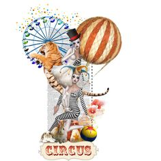 circus by fairuzrahmah on Polyvore featuring art