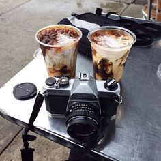 aesthetic, alternative, bobo, camera, chocolate, coffee, drinks, food, grunge, hipster, indie, pale, photography, retro, tumblr, vintage