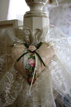 Lovely, Vintage Style, Heart of Lace~❥