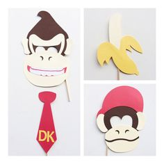 Hey, I found this really awesome Etsy listing at https://www.etsy.com/listing/263233111/donkey-kong-inspired-photo-booth-props