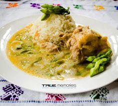 Receta - Pollo en Crema y Loroco l Sólo lo mejor de Guatemala