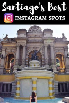 This post details the most Instagram worthy spots in Santiago, Chile for all photographers who plan to visit the capital. Spots include Sky Costanera, Cerro Santa Lucía, Plaza de Armas, and more!