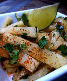 Jen's Gone Paleo: Jicama Salad w/Cilantro-Lime Vinaigrette  Appropriate for Levels 1, 2, & 3.