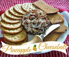 The Country Cook: Pineapple Cheeseball
