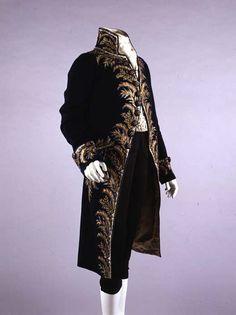 Suit ca. 1809 via The Costume Institute of The Metropolitan Museum of Art