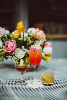 Whiskey drinks at the Women & Whiskies and Love & Victory Summer Cocktail party - Brooklyn, NY 2016