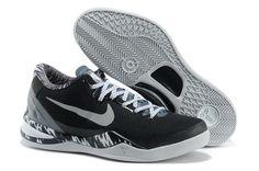 18e3ae9d6fe7 Latest Listing Discount 613959 001 Black Grey White Premium Nike Kobe 8  System PP Sports Shoes Shop
