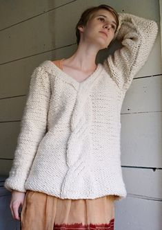 First Snow Pullover : Deep Fall 2013