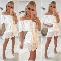Edgy Dress, Casual Dresses, Summer Dresses, Knit Dress, Dress Skirt, Lace Dress, Cute Comfy Outfits, Looks Vintage, Dress And Heels