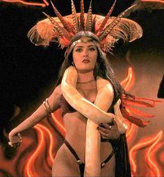 Salma Hayek as Santanico Pandamonium - From Dusk Till Dawn (1996)