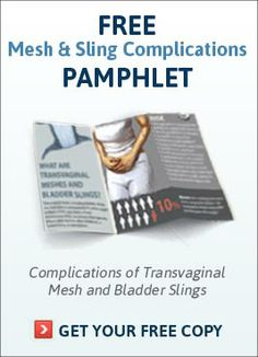 Vaginal Mesh Issues  C2 B7 Transvaginal Mesh Lawsuit Class Action Lawyers Mdl Bladder Slings Pelvic Floor