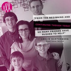 While many people think of caregivers as family members of those fighting illness for Leslie Gartenberg it was her whole community. Leslie was diagnosed with invasive and highly aggressive breast cancer in September of 2015. She fought through 17 rounds of treatments and 5 surgeries including a double mastectomy. Many different people - an entire Jewish community of errand runners meal-makers babysitters hand-holders and friendly faces - stepped up to help and give the encouragement she…
