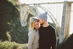 Last month I did a photo giveaway. The only criteria was that the couple could meet me in Big Sur and that they had to be in love. Sonja and Caleb fit the description like nobody's business! Bixby Bridge, Family Photos, Couple Photos, Big Sur, Engagement Photos, Trips, California, Photography, Family Pictures