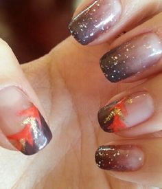 5 Thanksgiving nail designs you didn't know you needed