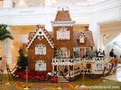 Grand Floridian Gingerbread house, full size!