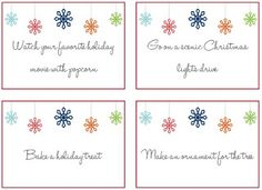 Advent Activities Printable | DIY Christmas