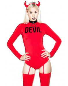 dollskill devious devil bodysuit set found on my new favorite app dote shopping find this pin and more on halloween costume ideas