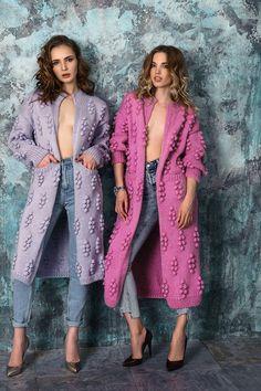 """Купить Вязаный кардиган """"Виноградная лоза"""" ручной работы. Вязаное пальто - кардиган, вязаное пальто"""