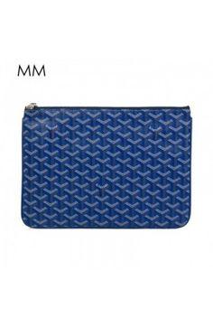 Goyard Clutch Bag MM Blue Goyard Clutch, Clutch Bag, Classic, Dress, Blue, Derby, Dresses, Clutch Bags, Clutch Purse
