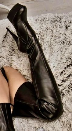 Sexy High Heels, Thigh High Heels, High Heel Boots, Heeled Boots, Bootie Boots, Sexy Stiefel, Leder Outfits, High Leather Boots, Long Boots