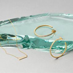 Broken glass still life